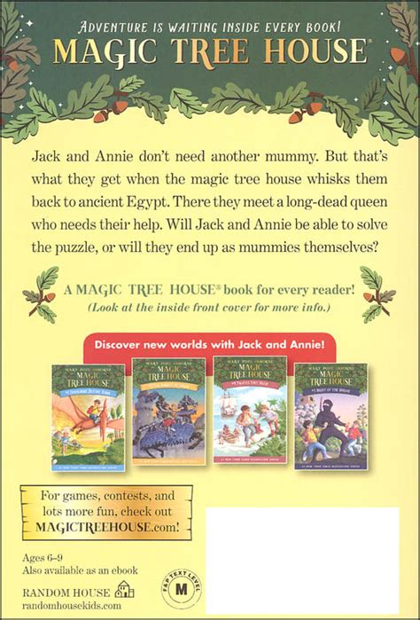 magic tree house mummies in the morning mummies in the morning magic tree house 3 012052