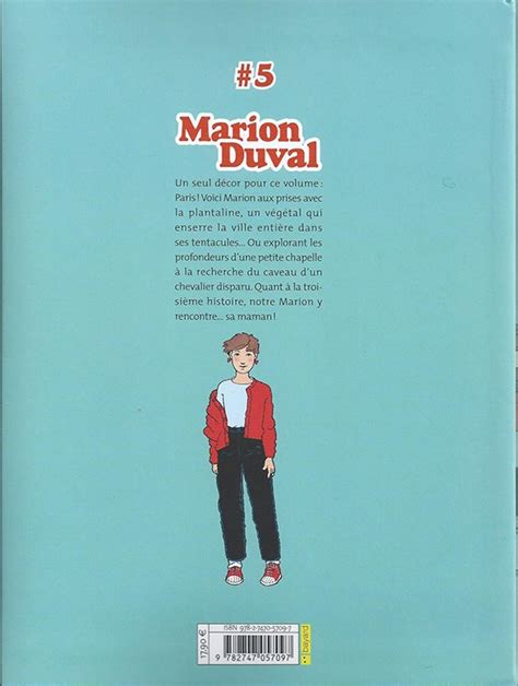 Marion Duval Bd Informations Cotes Page 4