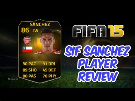 alexis sanchez ultimate team price fifa 15 ultimate team sif alexis s 225 nchez 86 player review