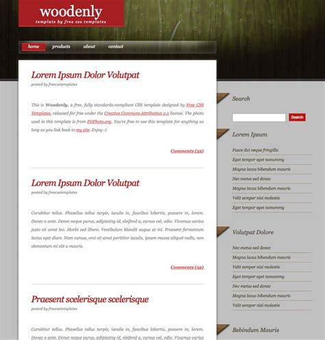 Card Business Dreamweaver Templates by Free Dreamweaver Templates Http