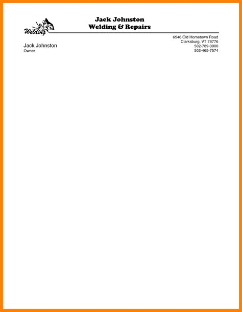 letterhead sles word business itinerary template with
