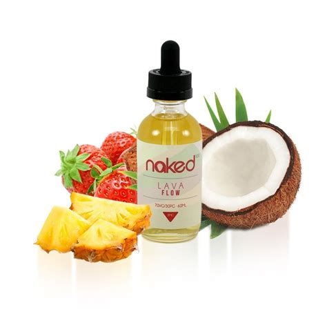 lava flow 60ml by naked100 e liquid