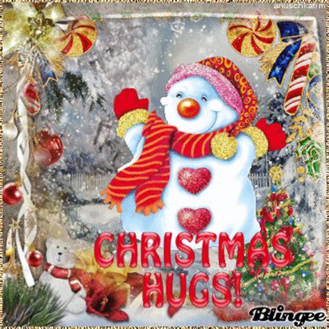 christmas hugs    friends picture  blingeecom
