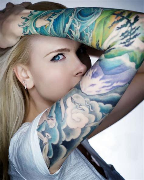pretty sleeve tattoos so pretty nature themed sleeve tattoos