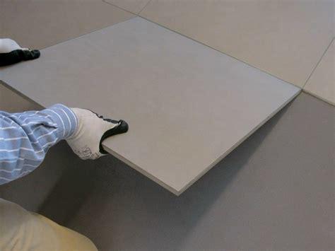 sistemi di posa piastrelle sistema di posa modulare per pavimenti interni novoceram