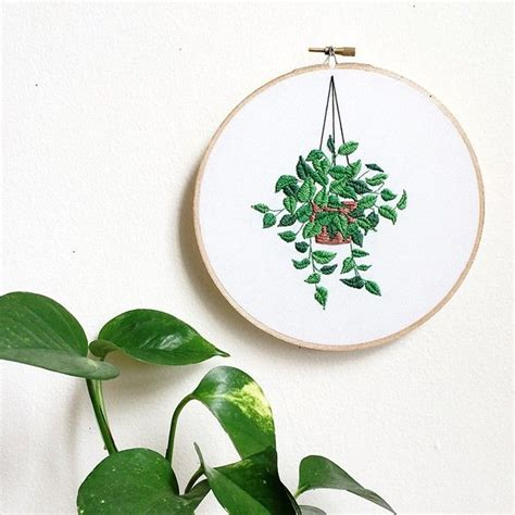 embroidery plants 25 best ideas about contemporary embroidery on