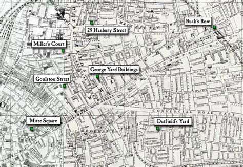 casebook jack the ripper maps of whitechapel 1888 1894