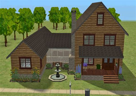 cottages with breezeway mod the sims breezeway cottage