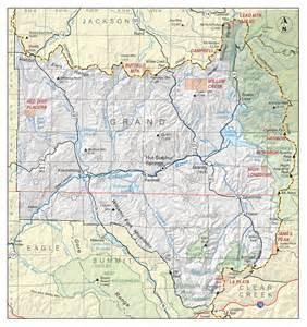 map of grand county colorado grand county colorado geological survey