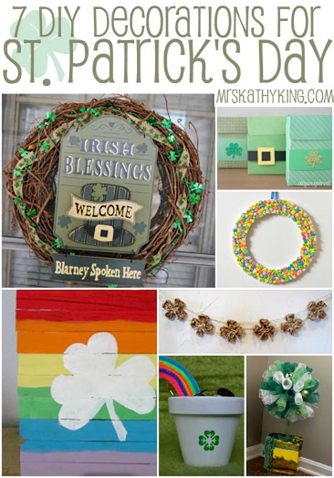 st s day decorations diy st s day decorations