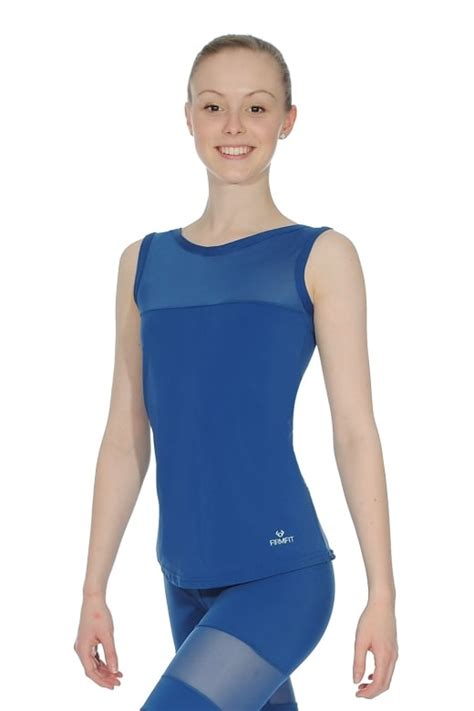 boat neck vest from dansez dancewear central - Boat Neck Vest Top