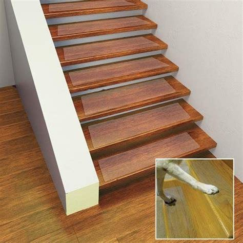 Non Slip Stair Rugs by Puppy Treads Self Adhering Non Slip Tread 4 Pack 6 X 24