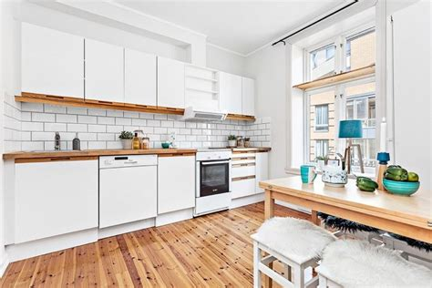 cuisine plan de travail bois massif plan de travail en bois massif chaleureux moderne et