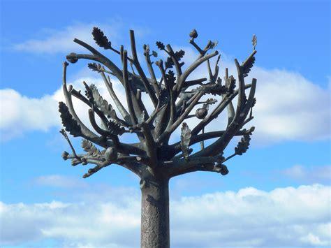 desain gambar flora gambar pohon cabang mekar kreatif menanam langit