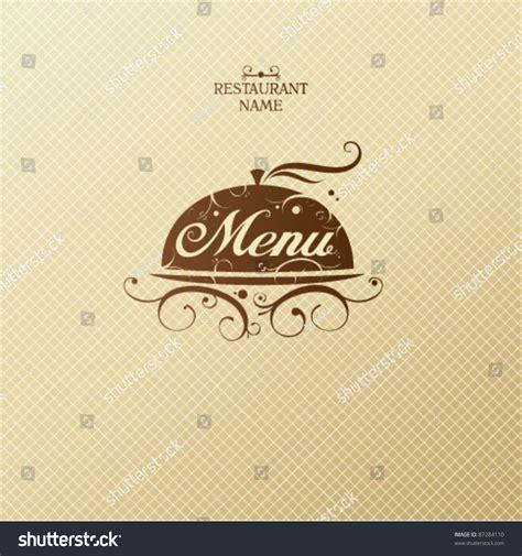 menu card design template vector restaurant menu card design template stock vector 87284110