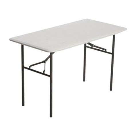 Folding Tables Home Depot by Lifetime Residential 4 Ft Folding Table 80290 The Home