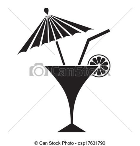 umbrella drink svg 20 cocktails clipart