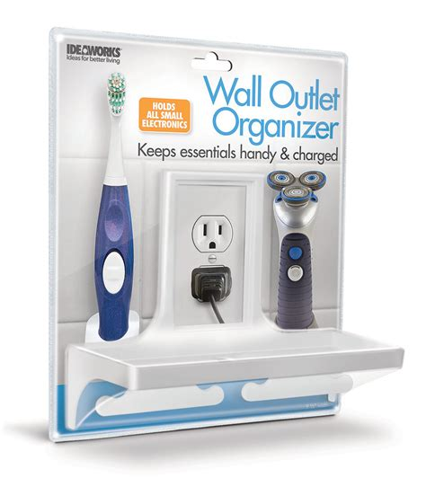 Wall Outlet L Organizer By Ideaworks Ebay