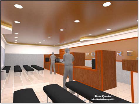 Layout Kantor Pos | re design lobby kantor pos oleh marta rosalina o say
