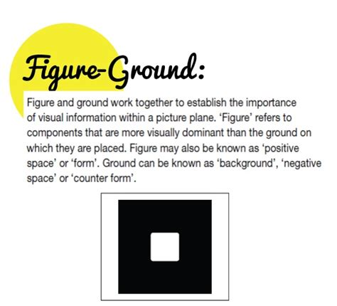 layout elements definition definition of figure ground figure ground pinterest