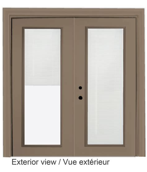 5 Ft Patio Sliding Doors Sliding Patio Door Mini Blinds 5 Ft 60 In X 80 In 500104 In Canada