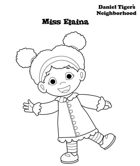 daniel tiger coloring 12 free printable daniel tiger s neighborhood coloring