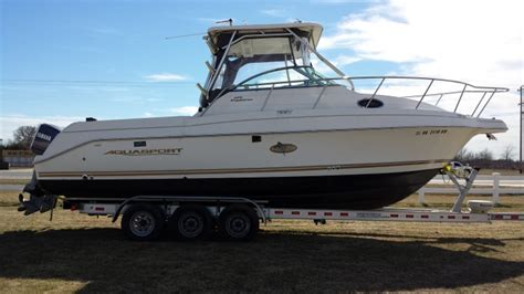 cuddy cabin boats for sale kingston 2002 aquasport 275 explorer for sale in kingston ok