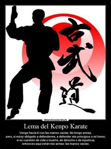 imagenes motivadoras de karate lema del kenpo karate desmotivaciones