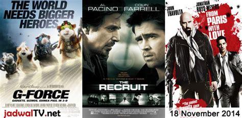 film rekomendasi november 2014 jadwal film dan sepakbola 18 november 2014 jadwal tv