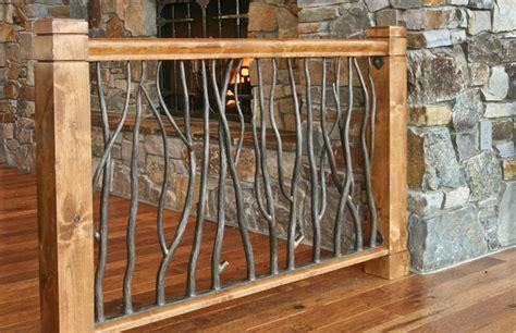 tree branch banister tree branch banister home design