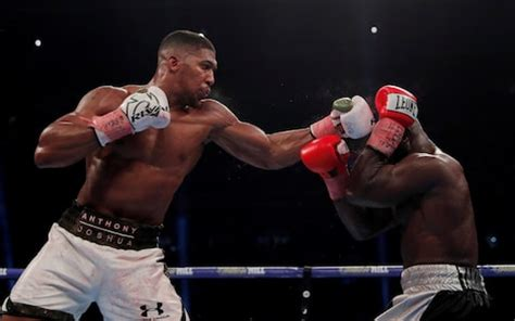 Anthony Joshua, the complexity of arranging huge