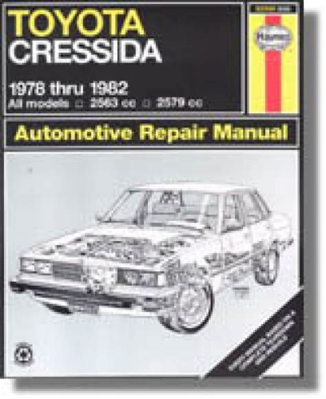 what is the best auto repair manual 1978 chevrolet corvette parental controls haynes toyota cressida 1978 1982 auto repair manual