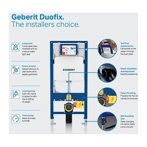 Wc Geberit 2999 by Geberit Duofix Wc Toilet Frame Up320 Sigma Cistern