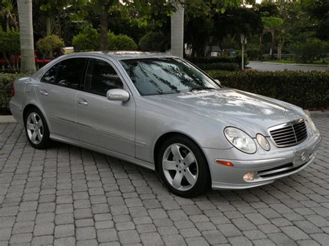 2004 Mercedes E500 by 2004 Mercedes E500 Fort Myers Florida For Sale In