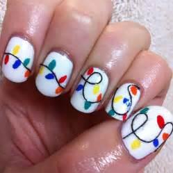 Christmas light nail art designs amp ideas 2013 2014 x mas nails