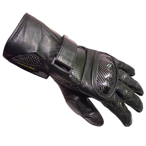 Men's Leather Stealth Winter Gloves for Bikers