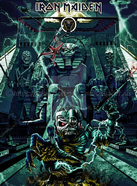 iron maiden by croatian crusader on deviantart