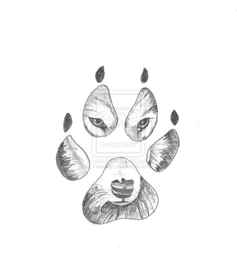 paw drawing 25 best ideas about wolf paw tattoos on wolf print wolf paw print