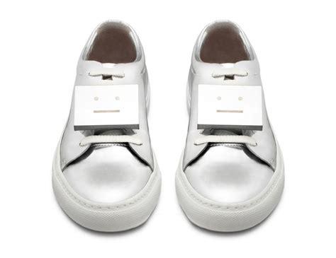 acne studios shoes acne studios shiny metallic summer 2014 shoes