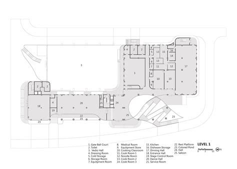 facility layout en español gallery of senior center of guangxi atelier alter 30