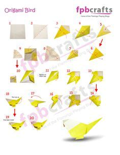 How To Make A Bird Out Of Paper - steps on how to make an origami by sipho mabona