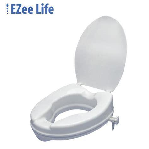 elevated toilet seat walmart ezee 2 quot raised toilet seat with lid walmart ca