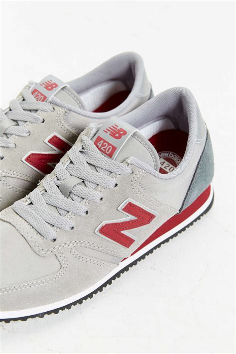 new balance 420 sneakers new balance 420 70s running sneaker in gray for lyst