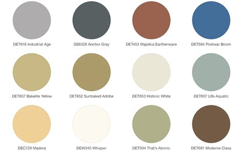 mid century color schemes exterior color palette home design
