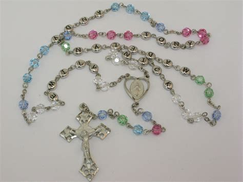 Handcrafted Rosaries - chaplets