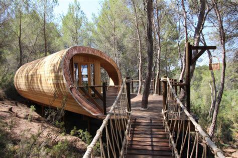 Lovely Tent Platform Construction #10: Fibonacci-Tree-House-Blue-Forest-51.jpg
