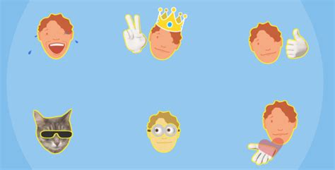 Your Face Emoticons Pack Elements After Effects Templates F5 Design Com Animated Emoticons Pack After Effects Template