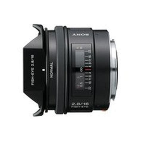 Sony Lens Sal 16mm F2 8 Fish Eye sony 16mm f2 8 fisheye lens for sony alpha lenses