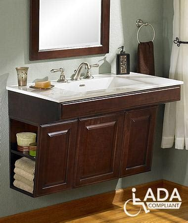 ada vanity ada compliant vanity sink thinking this for sti