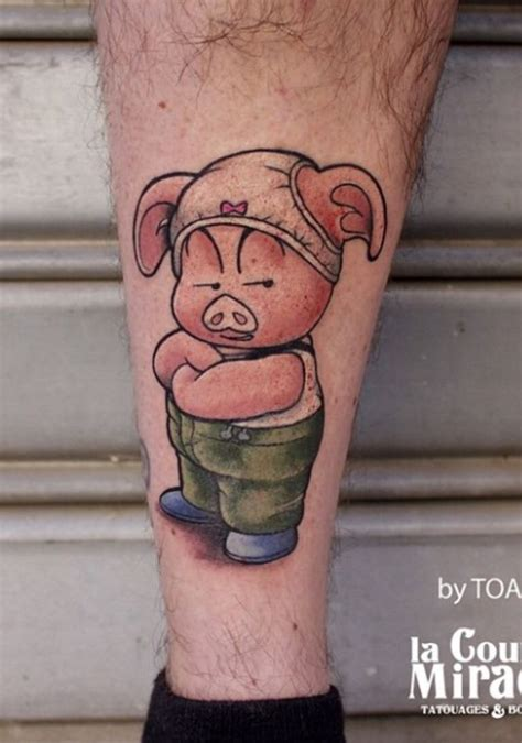 pig tattoo 71 best pigs tattoos ideas images on